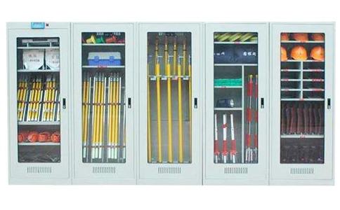 电力、高铁、飞机制造等行业的RFID安全工器具管理柜介绍