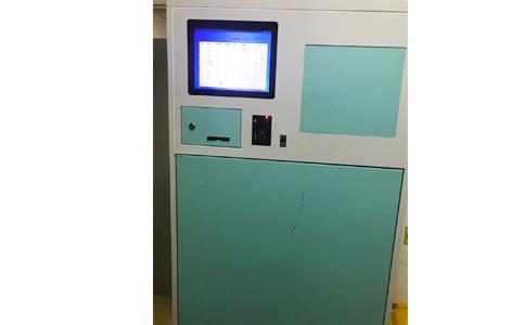 RFID应用于医院被服管理收衣柜.