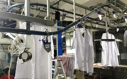 RFID水洗纽扣标签应用于服装物流管理