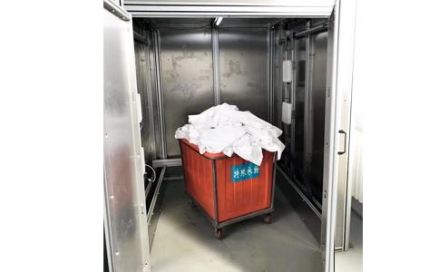 RFID超高频布草洗涤耐高温标签UT4755应用于医院被服管理