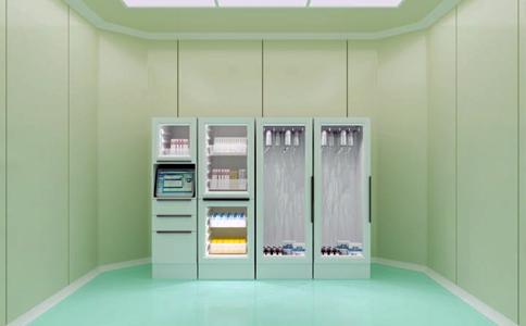 RFID高值耗材柜/药品零售柜
